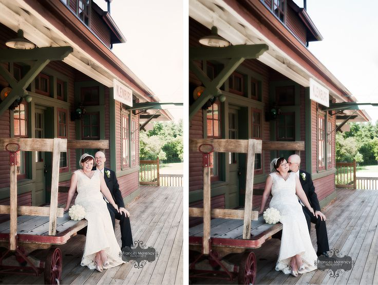 old train station photography in kleinburg