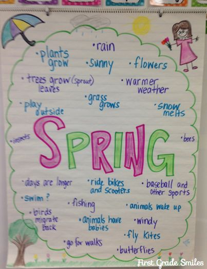First Grade Smiles: Why is it snowing outside in APRIL??