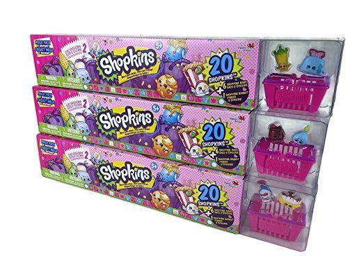 60 Shopkins Season 2 Ultimate Mega Pack Collectors Bundle 3 x 20 Packs (No Duplicates)