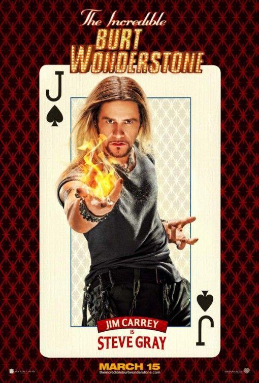 The Incredible Burt Wonderstone Movie Poster #2 - Internet Movie Poster Awards Gallery