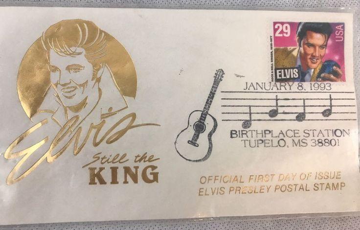 Elvis Still The King Official First Day Of Issue Elvis Presley Postal Stamp | Entertainment Memorabilia, Music Memorabilia, Rock & Pop | eBay!