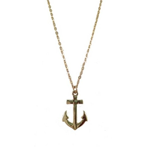 Jules Smith Nautical Necklace ($65) found on Polyvore