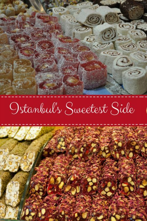 Turkey didn't disappoint when it came to sweet treats and confectionery, some of it too sweet even for me, and that's a first…  The Spice Bazaar in Istanbul had stalls piled high with endless varieties of Turkish sweets and sugary scrumptiousness.
