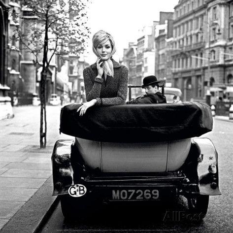 Lucinda in London, 1959 Art Print