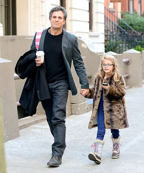 Mark Ruffalo and his daughter Odette... I thought you might appreciate this :) @Kara Walterhouse