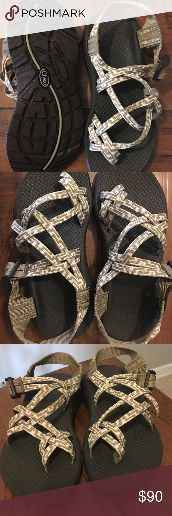NWT Chaco Sz 6 Women's desert khaki Brand new with tag! Daughter just didn't like the color since she likes to be fashionable in her teals! I loved the desert khaki color because they blend nicely with your adventure clothes! Toe strap style which can still be adjusted to be tightened or loosened. Comes from smoke free home! Chaco Shoes Sandals