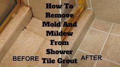 how to clean shower grout