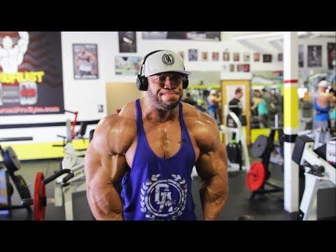 Phil Heath's Shoulder Workout - 2 Months Before 2017 Mr. Olympia - YouTube