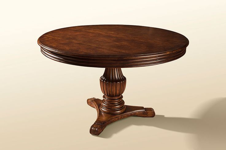 Round Cedar Table H 28 in. x W 56 in. x D 56 in.