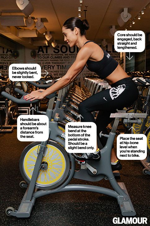 5 Must-Know Tricks for Positioning Your Spin Bike: Glamour.com