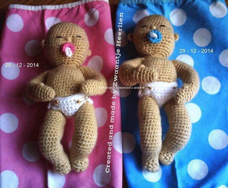 Zwaantje Creatief: Mijn vijfde babypopje!, #haken, gratis patroon, Nederlands, amigurumi, pop, baby, knuffel, #haakpatroon