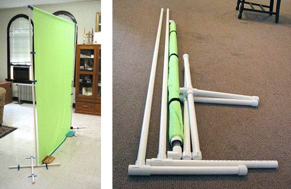 It seems that many graphic designers these days are into photography (either out of necessity or love). Here's a cost effective, relatively simple build-it-yourself photography backdrop to help with your green screen or portrait shots: