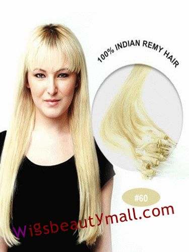 73 best tape in hair extensions images on pinterest remy human pretty 34 inches 100 strand straight micro loop ring indian remy hair extensions white blonde pmusecretfo Choice Image