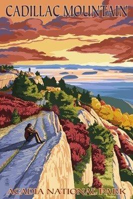 Acadia National Park, Maine - Cadillac Mountain