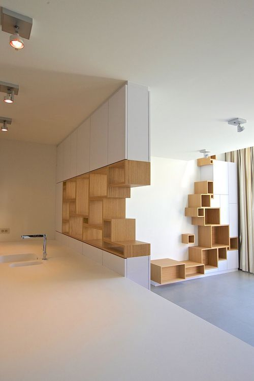 Filip Janssens has its own unique style where furniture is part of the space. Ch