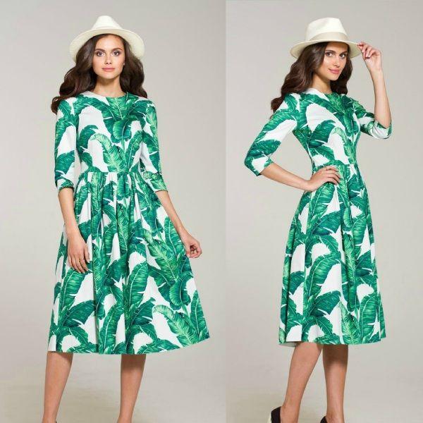 """Платье """"Банановые листья"""""""