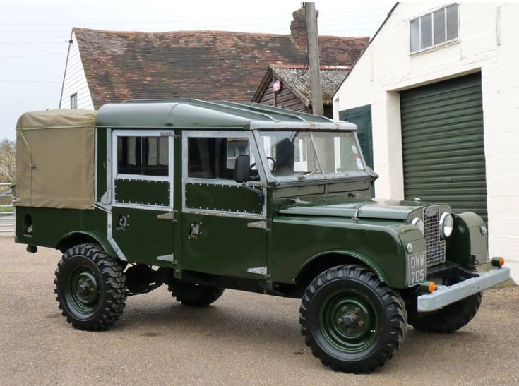 Land Rover S1 LWB 107 Double Cab