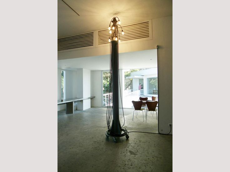 PSEUDO LAMP SERIES 1, STANDING LAMPS, 2010 IFUGAO RED (THE DRAWING ROOM), Gaston Damag - 2014