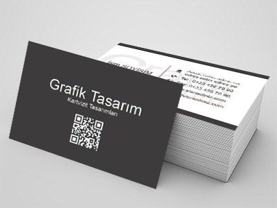 Grafik tasarım sektörü çalışanları için kartvizit örnekleri