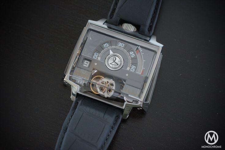 Hautlence Vortex 01 Titanium case limited edition of 28 pieces