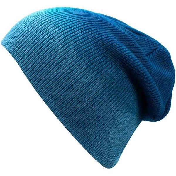 Blue Ombre Gradient Beanie Skull Cap Hat (€13) ❤ liked on Polyvore featuring accessories, hats, beanie, blue, skull beanie, skull cap, knit skull cap, beanie hats, blue hat and long beanie hats