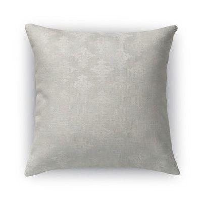 """Kavka Vasos Burlap Throw Pillow Size: 24"""" H x 24"""" W x 5"""" D"""