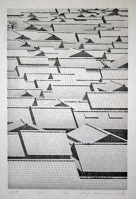 by Ray Morimura, Hatsuyuki First Snow, 2005, Japan