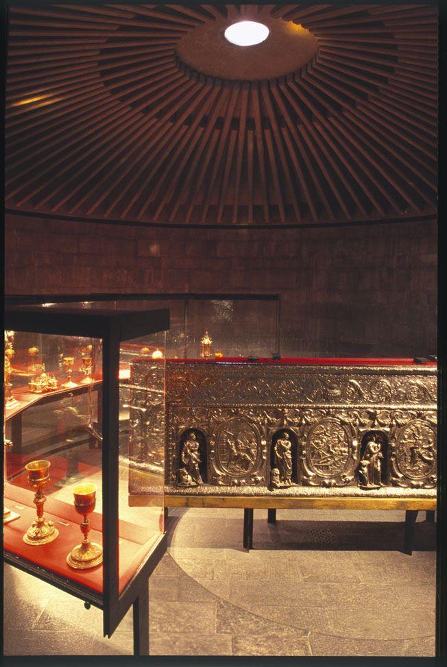 Franco Albini - Museo del Tesoro di San Lorenzo - Genova 1956