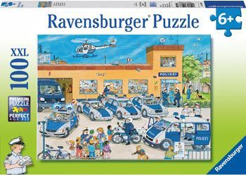 These picture perfect Ravensburger Police District Puzzle - 100 Piece is great fun and a great learning tool too. Buy it now at our super low prices