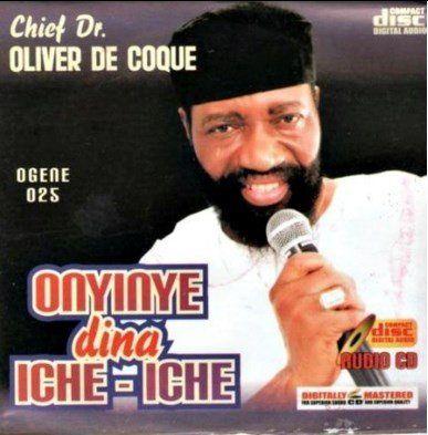 Oliver De Coque - Onyinye Dina Iche Iche - CD