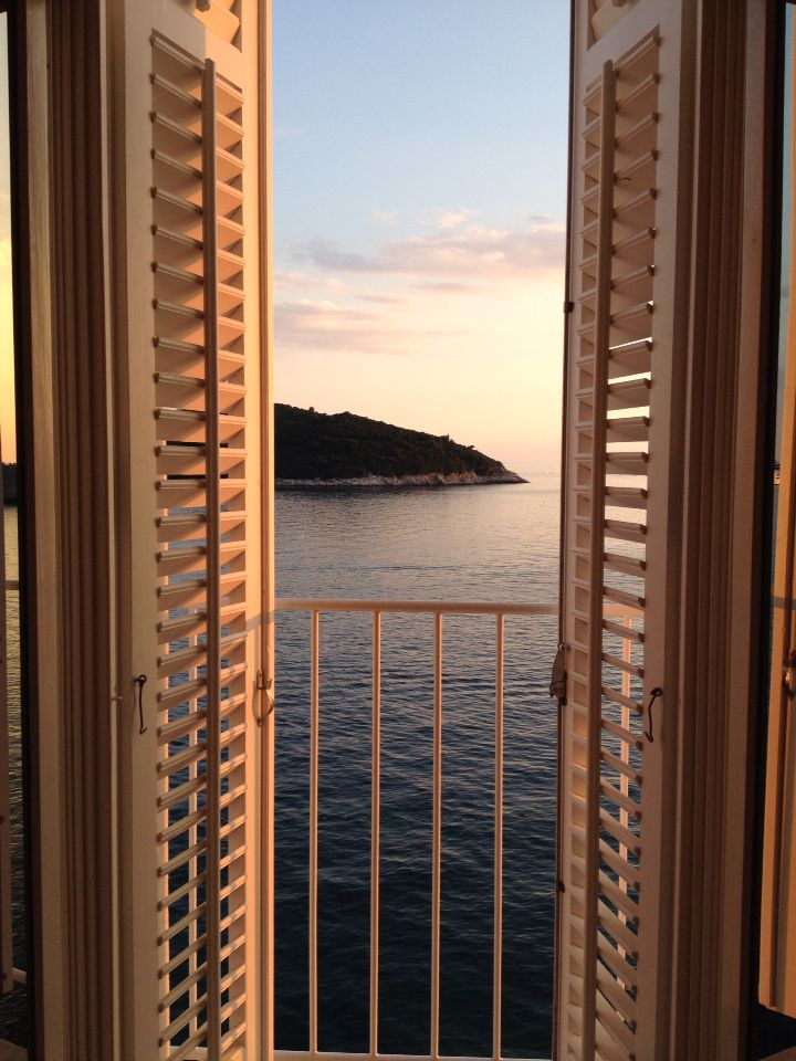 Room with a view - the best at the Excelsior Hotel in Dubrovnik