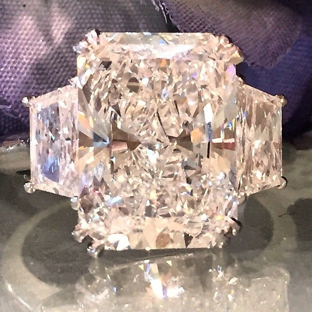 5.35 radiant cut diamond Available at Alson Jewelers.  Call 216-464-6767 for more information.  www.alsonjewelers.com