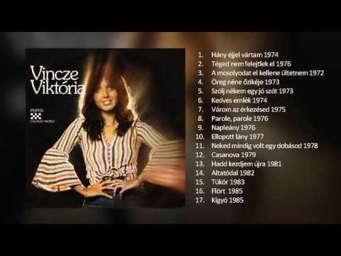 Vincze Viktória: Nagy válogatás 1972 - 1985 - YouTube