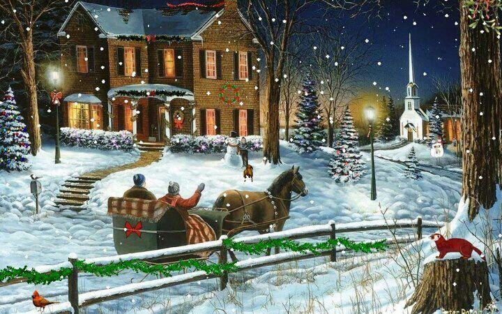 Christmas Sleigh Ride | Sleigh Rides | WINTER IN A SLEIGH ...