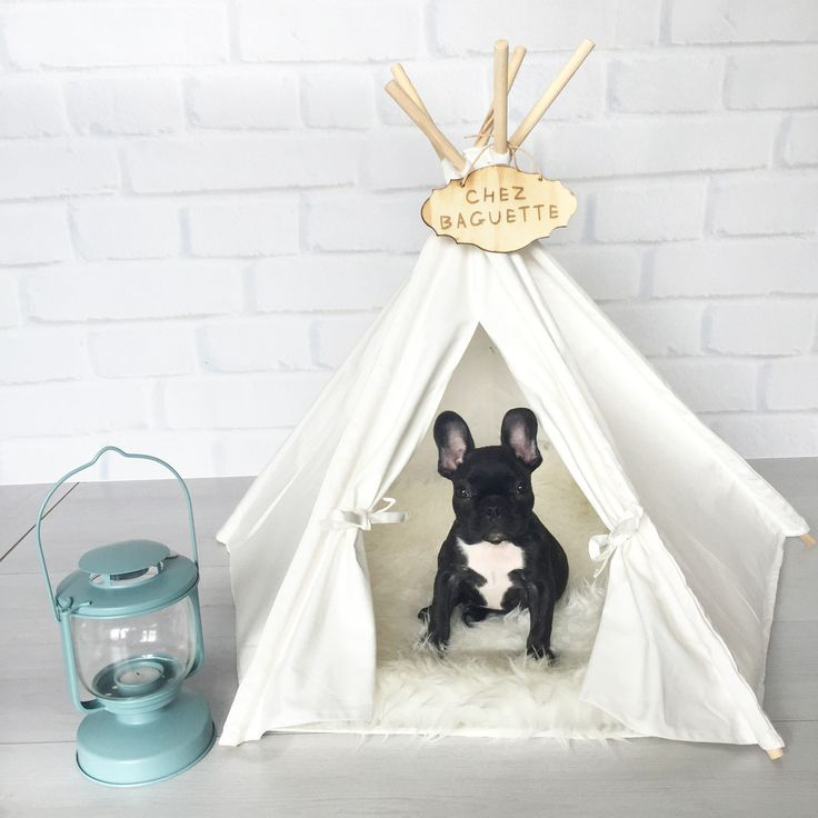 Simple Life Teepee. Cute and unique tents/teepees pet beds for dogs and cats.