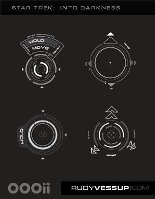 Star Trek: Into Darkness – Surveillance UI | Rudy Vessup