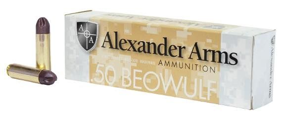 .50 Beowulf® Ammunition Featuring 200 Grain #PolyCase® Inceptor™ ARX® Projectiles now available at http://www.alexanderarms.com/news-events/160-new-50-beowulf-polycase-inceptor-arx #ARX #Inceptor #Polycase#50beowulf #riflerounds #youcanthidemrhog