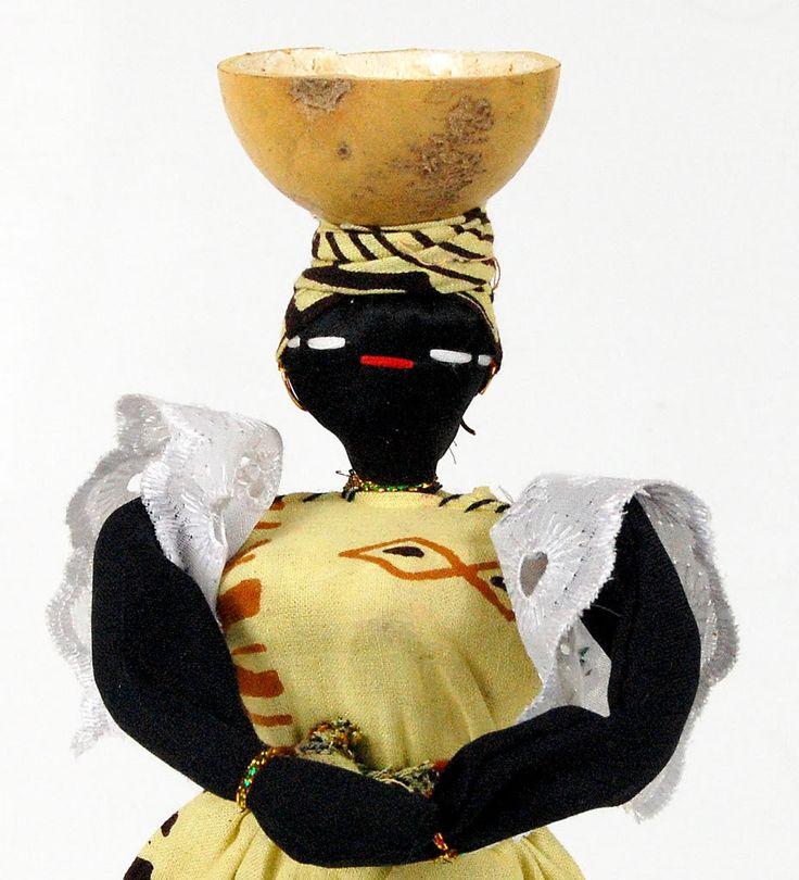 African Doll Handmade Senegal 12 Beautiful. Africa! New!