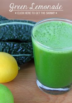 "Juicing recipe for beginners!  ""Green Lemonade"" Ingredients: 2 small green apples 1 lemon, peeled ½ cucumber 6 stalks celery 6 large pieces of kale 1-inch piece of ginger"