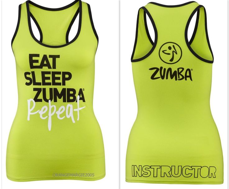 ZUMBA FITNESS Dance! ~INSTRUCTOR'S RacerBack Top Shirt Tank ~fr.Convention S M L #ZUMBAZUMBAFITNESS #RacerbackTopShirtTeeTankZumbaInstructor