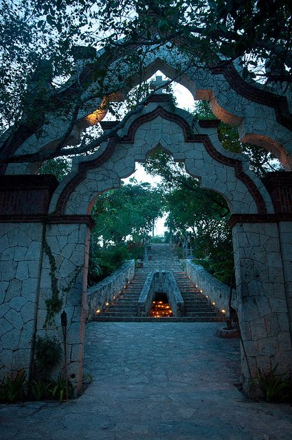 Cancun, Mexico A romantic stroll through here would be a dream for the both of us.