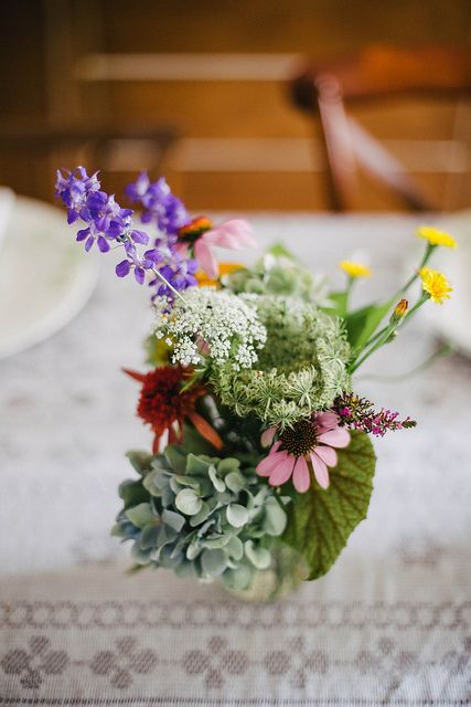 bouquet by Beth Kirby | {local milk}, via Flickr