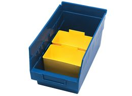 Accessories for 4'' Shelf Bins (QSB Series)