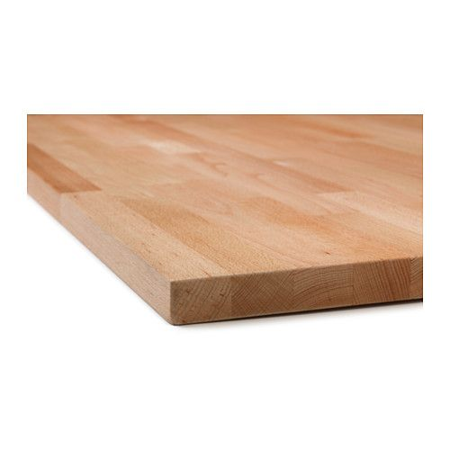 Solid Wood Kitchen Countertop Very Long So Can Cut Into