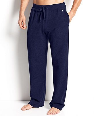 Polo Ralph Lauren Men's Loungewear, Waffle Thermal Pants - Pajamas, Robes & Slippers - Men - Macy's