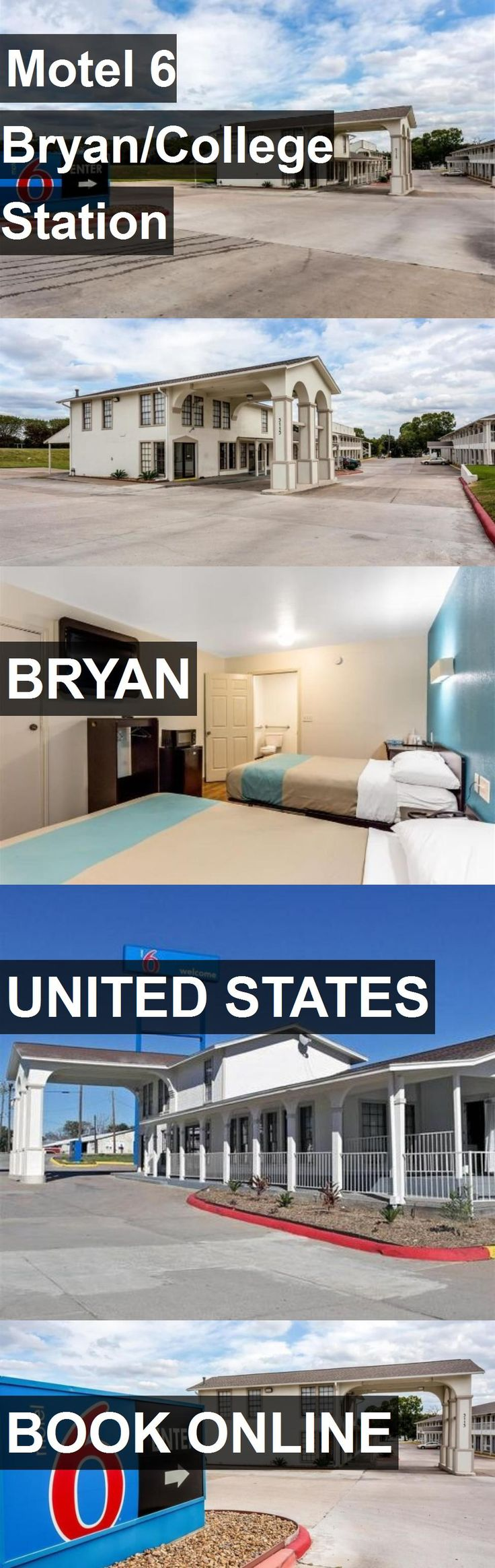 Hotel Motel 6 Bryan/College Station in Bryan, United States. For more information, photos, reviews and best prices please follow the link. #UnitedStates #Bryan #travel #vacation #hotel