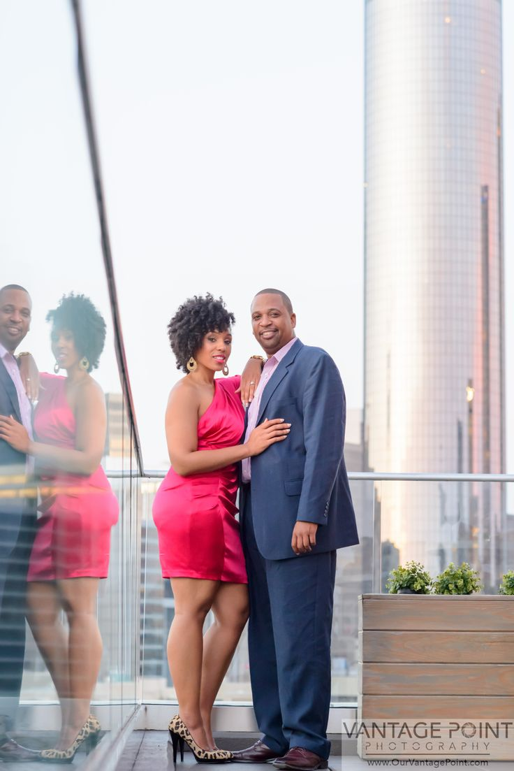 Atlanta Photographers | Couples + Engagements | Engagement Pictures | Glenn Hotel Atlanta | Rooftop
