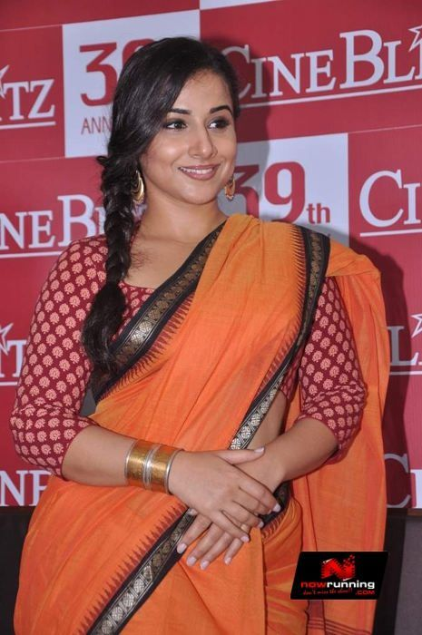 Vidya Balan @ Vidya Balan Launches Cine Blitz Anniversary Issue