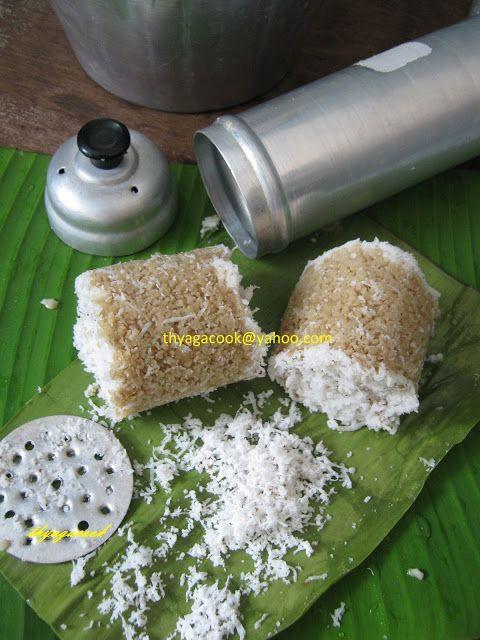 KARI LEAFS ... Malaysian  flavour's: ATTA FLOUR PUTU