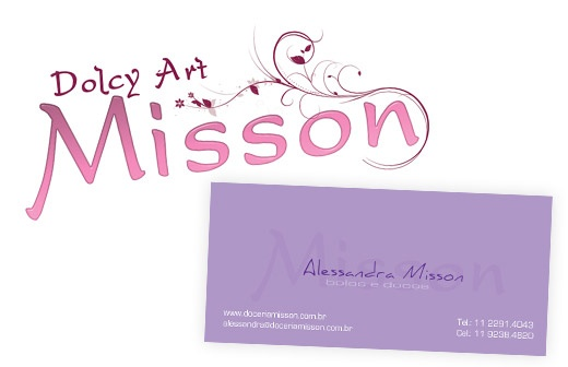 Doceria Misson - Identidade Visual + Papelaria
